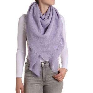Kelly & Katie Solid Lavender Blanket Scarf